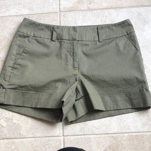 New York & Company Olive shorts size 8